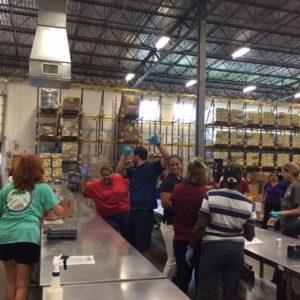 Volunteer Day At The Food Bank 5