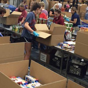 Volunteer Day At The Food Bank 7