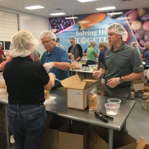Volunteer Day At The Food Bank 9