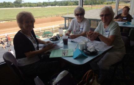 Wyndham Park Residents Visit The Horse Races