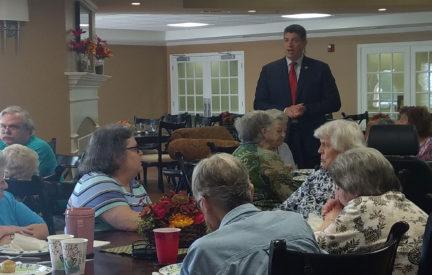 Wyndham Park III's Breakfast With Senator Bill Eigel